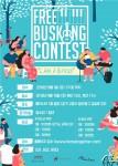 제1회 Free Busking Contest 포스터