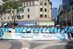 한국전기공사협회, 전기공사공제조합, 에너지시민연대가 공동으로 에너지 절약 캠페인을 벌이고 있다