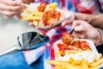 독일 대표 길거리 음식 쿠리부어스트