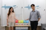청년일자리민관협력사업 참여자 김소연 씨와 참여업체 크리에이터스랩 김영찬 이사