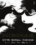 마인드디자인이 진행하는 MIRINAE파티 포스터