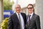 필 맥디빗 어센드 CEO(좌)와 앤드류 리(우) 어센드 복합기술이사