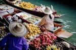 태국 방콕 수상 시장