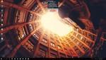 카약 데스크톱 이스케이프가 설치된 PC 바탕화면