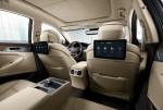 제네시스 2019년형 G80 신규 디자인 뒷좌석 듀얼 모니터