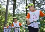 광덕산 환경교육센터에서 진행된 와숲 여름캠프