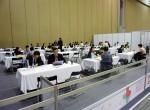 중국, 일본, 홍콩 등 6개 국가의 바이어가 참가해 수출상담회를 진행하고 있다