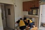 저소득 가정 주거환경 개선 봉사활동 현장