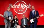 세계에서 가장 바쁜 국제 공항인 두바이 국제공항에 문을 열 Hard Rock Cafe는 Hard Rock International이 연달아 개장하고 있는 탁월한 푸드와 라이프스타일
