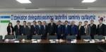 우즈베키스탄의 쉐르조드 쿠드비예프 고용노동부 장관 일행은 코리아텍 직업능력심사평가원을 방문, 향후 직업훈련평가 등 체계  전수에 대한 도움을 요청했다