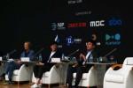 후오비 코리아 이상욱 CFO가 한국 블록체인산업의 인력 유출 현상에 대해 지적하고 있다