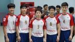 남자 세팍타크로 대표팀(사진 왼쪽부터 임태균, 임안수, 전영만, 김영만, 우경한 선수)