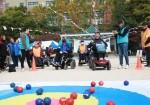 북부어울림체육대회 프로그램에 참여한 참가자들