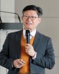 충남연구원이 개최한 충청중국포럼에 초청된 고영화 전 과기정통부 글로벌혁신센터장의 특강 현장