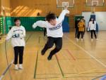 국립중앙청소년수련원 도서벽지 중학생 초청 진로체험캠프 참가 청소년들이 공동체 활동을 하고 있다