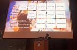 대전 컨벤션 센터에서 열린 2018 국제낙농연맹 연차 총회에서 풀무원다논 R&I센터의 임광세 소장이 요거트 시장의 성장 기회와 혁신을 주제로 발표하고 있다