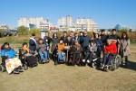 광주교통약자이동지원센터가 함께 진행한 광주천 가꾸기