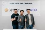 베잔트 파운데이션과 코미카엔터테인먼트가 전략적 파트너십을 체결했다