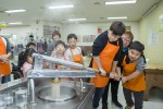 Hyosung executives and employees and their families took an overnight trip with disabled children an