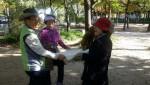 시니어 생태예술 프로젝트 숲과함께 참가자들
