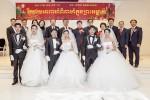 한국이주노동재단과 국제안전보건재단이 진행한 이주노동자 합동 결혼식 현장