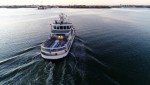 Ice-class passenger ferry Suomenlinna II was remotely piloted through test area near Helsinki harbor