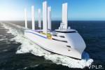 에너지 옵저버 선박이 오션윙스 윙세일을 장착했다