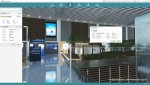 가상현실 기반으로 제공되는 공간별 세부 정보 예시