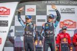 현대자동차는 2019 WRC 시즌 첫 대회인 몬테카를로 랠리에서 제조사 부문 1위를 달성했다