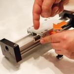 drylin W 모듈형 키트를 위한 무급유 베어링은 레일에서 바로 교체가 가능하다
