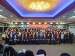 동국대학교 APP 21기 신입생 환영회(중앙 가운데가 남궁영훈 교수)