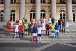 28 of the world's top footballers joined Nike (NKE: NYSE) in Paris to unveil 14 National Team Collec
