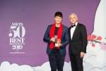 (왼쪽부터)밀레가 주목하는 레스토랑 어워드를 수상한 제이엘 스튜디오의 지미 림 오너 셰프와 마리오 미란다 밀레 아시아 사장