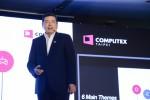 AMD의 리사 수 사장 겸 최고경영자가 2019 컴퓨텍스 인터내셔널 기자회견에서 기조연설을 한다