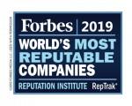바카디가 2019년 세계에서 가장 평판 좋은 기업 명단서 순위 상승을 자축했다