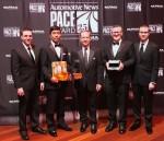 벨로다인 라이더가 4월 8일 디트로이트에서 개최된 시상식에서 2019 오토모티브 뉴스 페이스 어워드를 수상했다