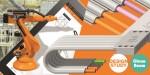 2019 부텍에 참가하는 한국이구스는 스마트 공장 솔루션으로 e스킨 플랫과 다관절 로봇암 robolink, 로봇용 다축 체인 등을 선보인다
