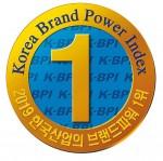 이브자리가 2019년 한국산업의 브랜드파워 홈패션 부문 1위에 선정됐다