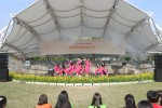 구리시청소년어울림마당에 참여한 청소년들이 댄스 공연을 펼치고 있다