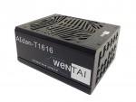웬타이의 1.6 kW ATX PC 게임용 전원공급장치 신제품은 트랜스폼의 Gen III GaN FET를 사용하여 약 95%의 효율성을 가지는 W80 PLUS® 티타늄 전원공급장치를
