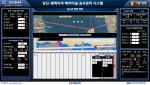 당진-평택 해저터널 3.4Km 실구축 현장 방재신기술 적용 관제 모니터링 화면