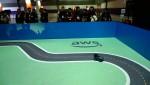 4월 17일과 18일 양일 간 서울 강남구 코엑스에서 열린 AWS 서밋 서울 2019에서 진행된 AWS 딥레이서 리그에서 아마존웹서비스의 초소형 자율주행차 딥레이서가 트랙을 달리고