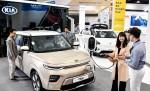 기아자동차는 제6회 제주 국제전기차엑스포에서 쏘울 부스터 EV, 니로 EV 등 기아차의 대표 전기차 모델들을 전시한다