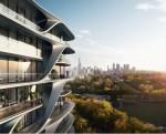 자하 하디드가 설계한 Mayfair 레지던스, 친친디 호주 부동산 투자상품