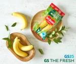 GS리테일이 델몬트와 론칭한 친환경 포장재 적용 바나나상품