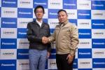 히구치 야스 커넥티드 솔루션 컴퍼니 최고경영자(왼쪽)와 후키노 고 링크위트 사장(오른쪽)