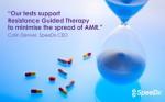 콜린 덴버 스피덱스 최고경영자는 이번에 우리의 검사 및 기술의 유용성과 적용 분야를 넓히는 것을 환영한다. 스피덱스는 환자의 치료를 향상시키기 위해 최선을 다하고 있는 것이 입증됐
