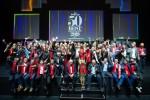 산펠레그리노와 아쿠아파나가 후원하는 2019 월드 베스트 레스토랑 50이 시상식을 개최하고 기념촬영을 하고 있다