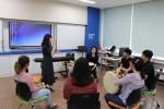학교폭력피해자지원센터 교사를 대상으로 특별 프로그램을 진행한다