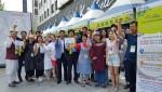충남 농가형 가공상품 농촌문화체험 건강담다 서울 청계천 직거래 장터가 성황리에 개최됐다